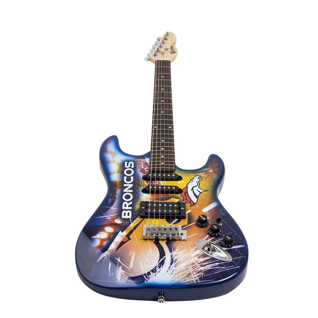 Woodrow Denver Broncos Northender Electric Guitar