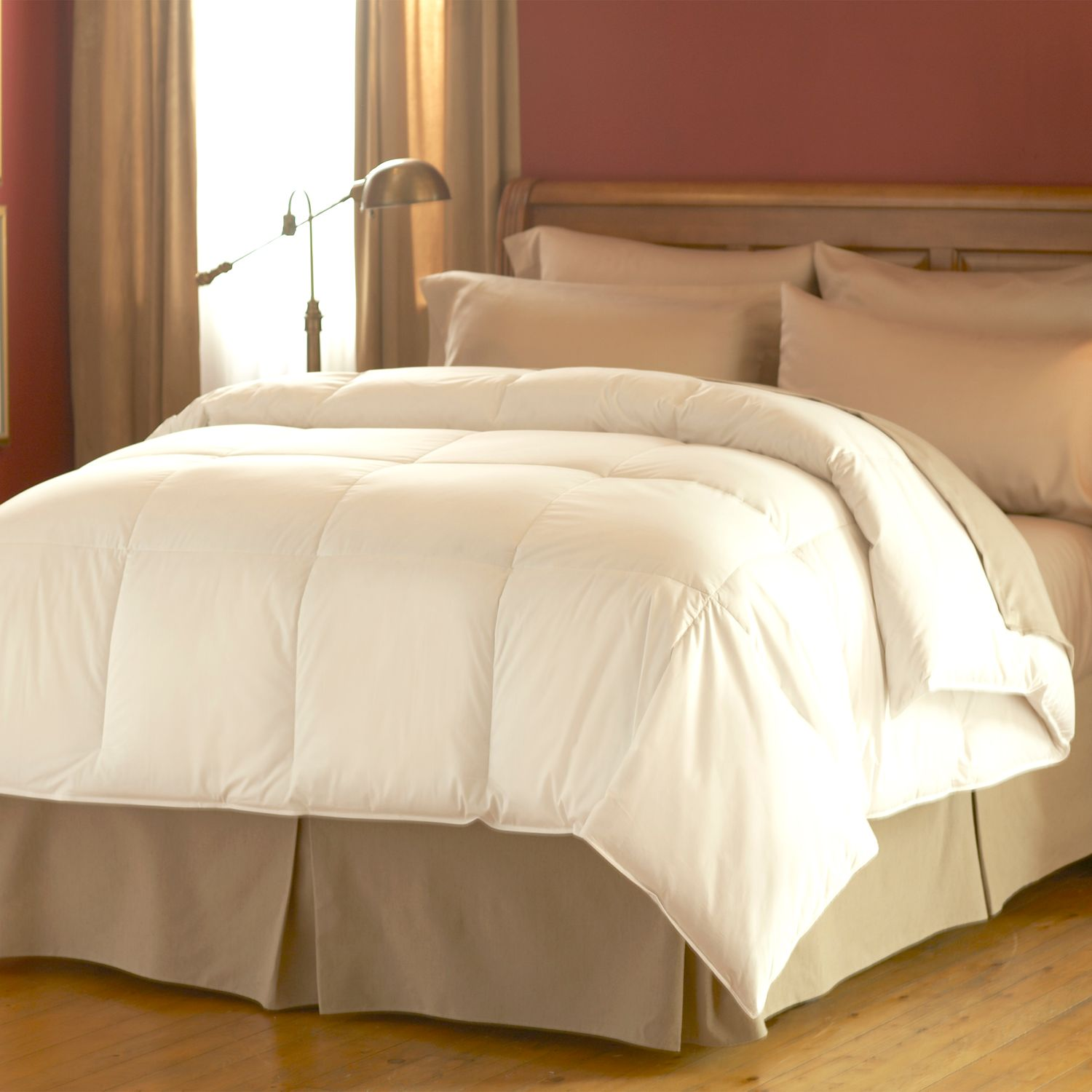 spring air dream form micro gel 300thread count comforter