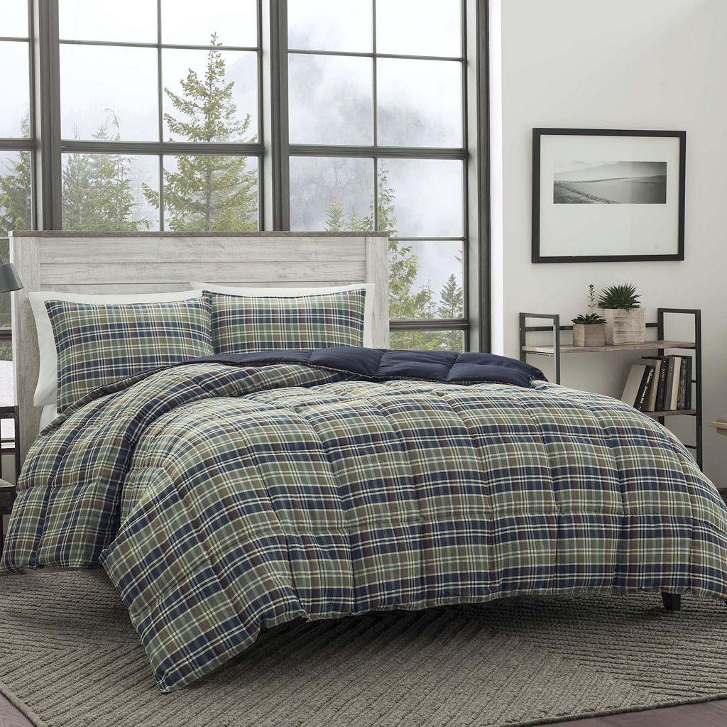 Eddie Bauer Rugged Plaid Down-Alternative Comforter Set