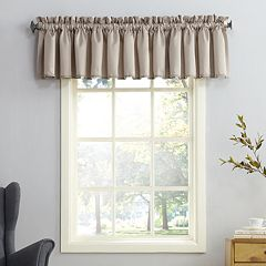 Sun Zero Gramercy Room Darkening Window Valance - 54'' x 18''