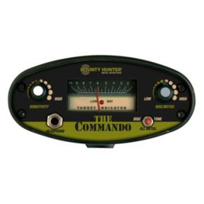 Bounty Hunter Camo Adjustable Metal Detector