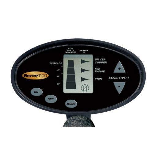 Bounty Hunter Discovery 1100 Adjustable Metal Detector