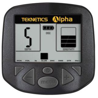 Teknetics Alpha Adjustable Metal Detector