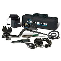 Bounty Hunter 6 pc Sharp Shooter II Adjustable Metal Detector Set