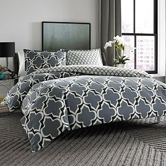 City Scene Brodie Reversible Duvet Cover Set