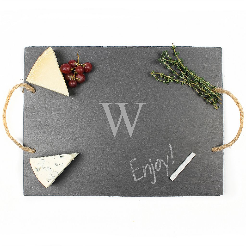 Cathy's Concepts Personalized Slate Serving Board