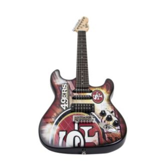 Woodrow San Francisco 49ers Northender Electric Guitar