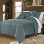 Veratex American Collection Velvet Soft Luxury 3-pc. Duvet Cover Set