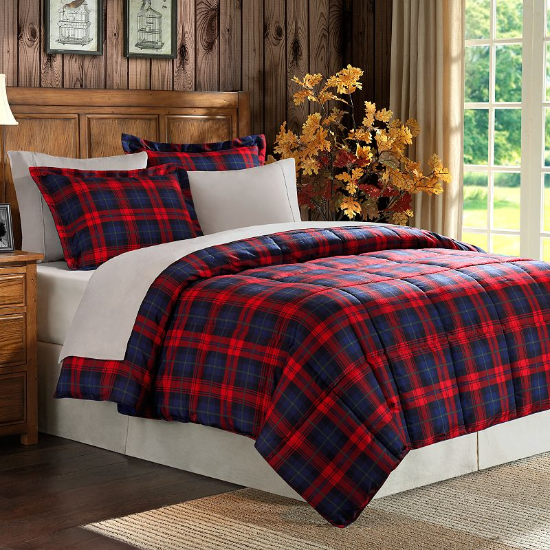 Red Plaid Bedding Kohl S