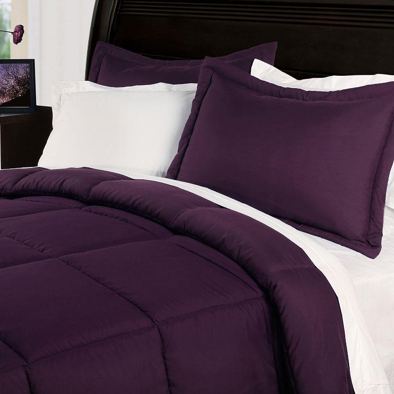 Purple Microfiber Comforter Kohl S