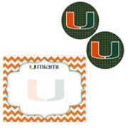 Miami Hurricanes 3 pc Trends Package