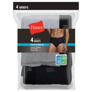 Men's Hanes 4-pack ComfortBlend Tagless Briefs