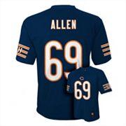 Boys 8-20 Chicago Bears Jared Allen NFL Replica Jersey