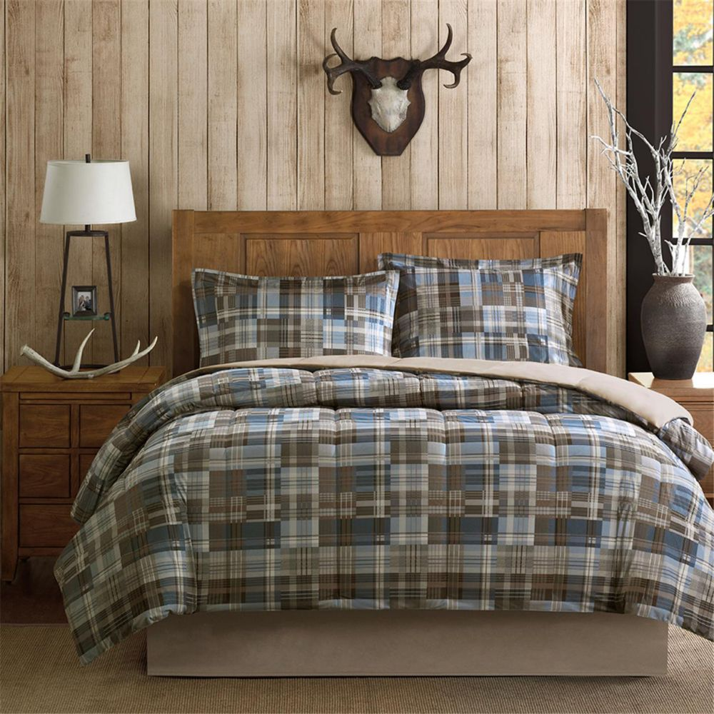 white river softspun down alternative comforter set