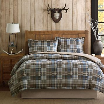 Woolrich White River Softspun Down-Alternative Comforter Set