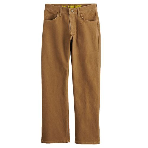 Boys 8-20 Lee® Sport Xtreme Comfort Straight-Fit Straight-Leg Jeans In Regular, Slim & Husky