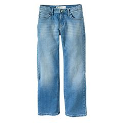 Boys 8-20 & Husky Lee Straight-Fit Stretch Jeans