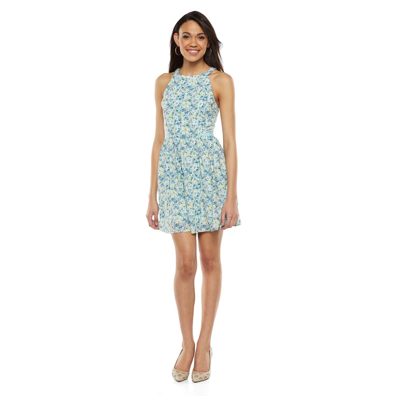 Disney Juniors' Cinderella Lace Halter Dress