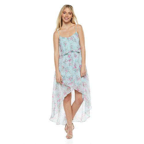 009341e67 Disney Juniors' Cinderella Floral High-Low Dress