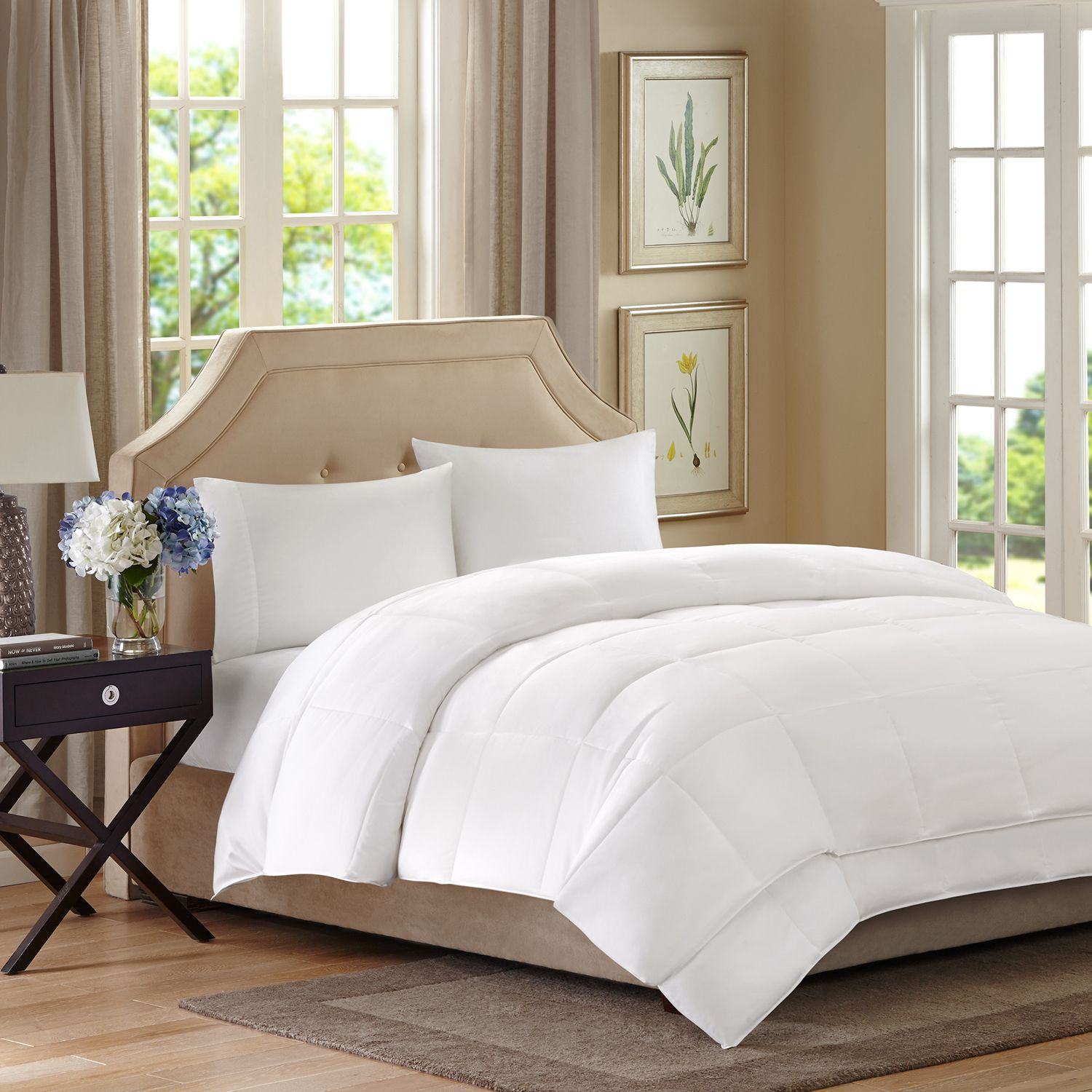 sleep philosophy benton 2layer down alternative comforter