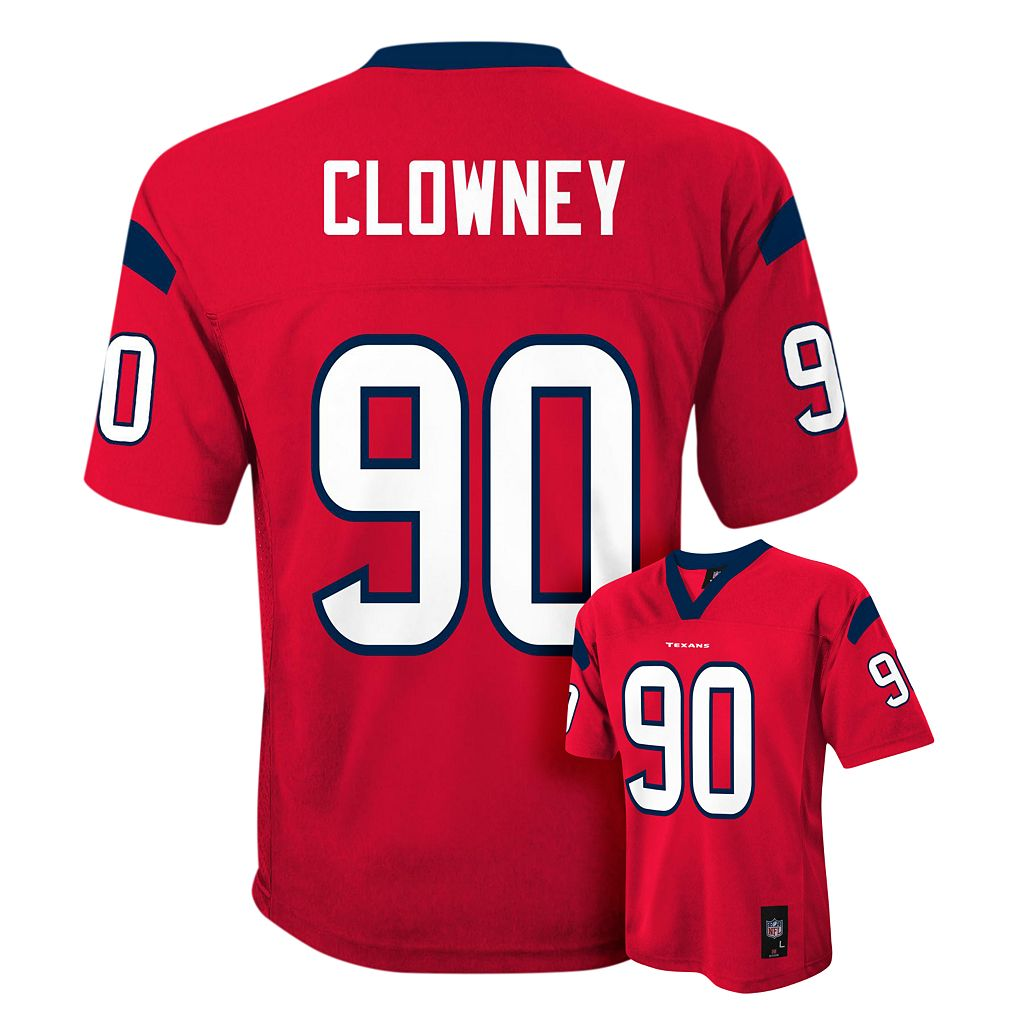 Boys 8-20 Houston Texans Jadeveon Clowney NFL Replica Jersey