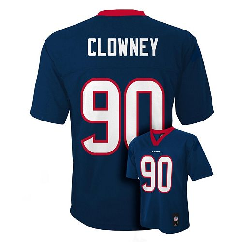 Boys 8-20 Houston Texans Jadeveon Clowney NFL Replica Jersey