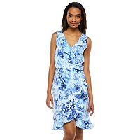 Apt. 9® Ruffle Faux-Wrap Dress - Women's