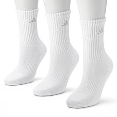 adidas 3-pk. Cushion Crew Socks - Women
