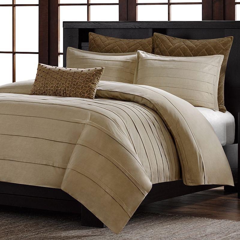 metropolitan home wright 3 pc comforter set king