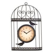 Bird Wall Clock - Indoor & Outdoor