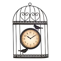 Bird Wall Clock - Indoor & Outdoor