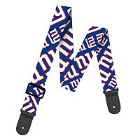 Woodrow New York Giants Guitar Strap