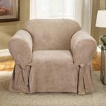 Sure Fit Soft Suede Chair Slipcover