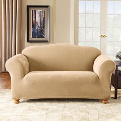 Sure Fit Stretch Pique Sofa Slipcover