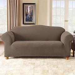 Sure Fit Stretch Pique Sofa Slipcover