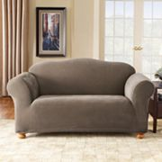 Sure Fit Stretch Pique Loveseat Slipcover