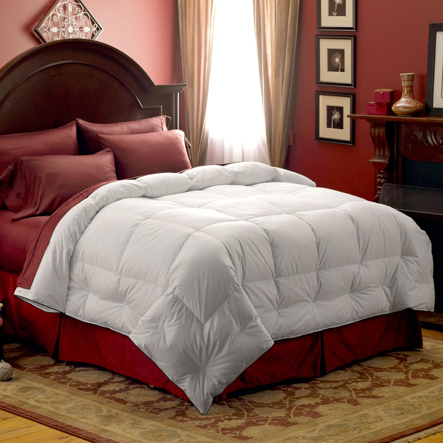 pacific coast feather 300thread count down comforter