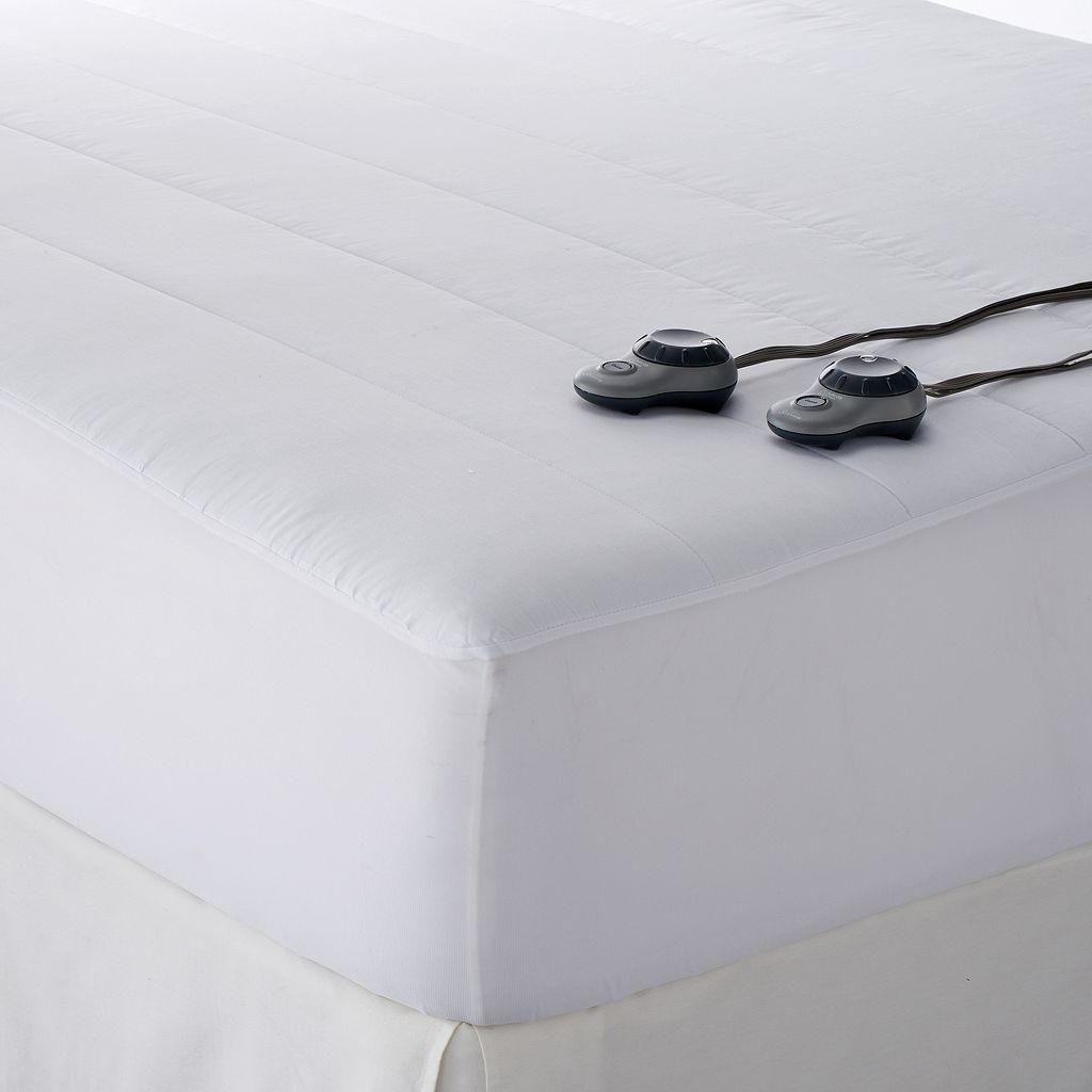 Sunbeam® Slumber Rest® Quilted Electric Mattress Pad