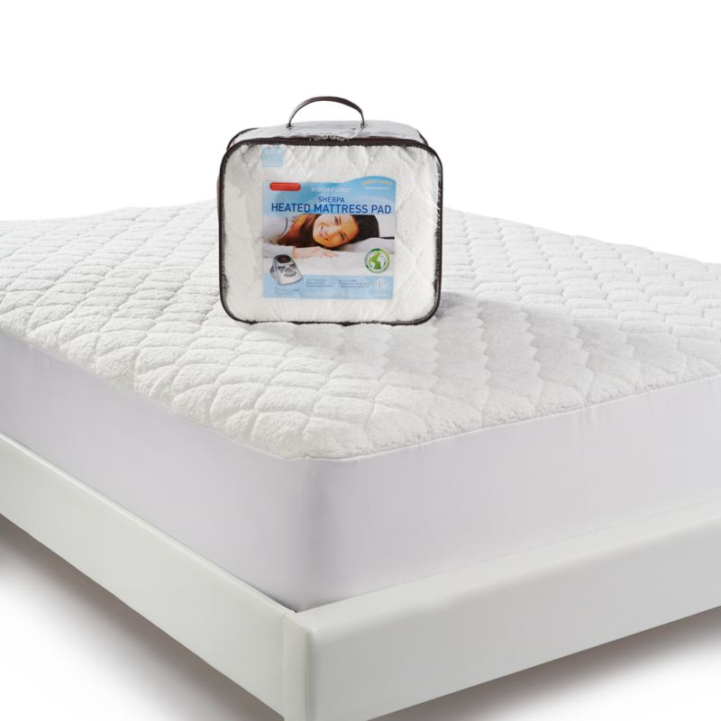 Kohls Electric Mattress Pad mattress pad white $ 169 99 luxuriously cozy this biddeford mattress ...