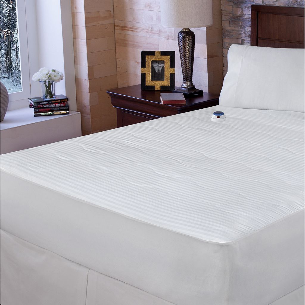 Serta Electric Warming Mattress Pad