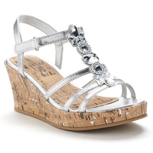 SONOMA Goods for Life™ Girls' Platform Wedge Sandals