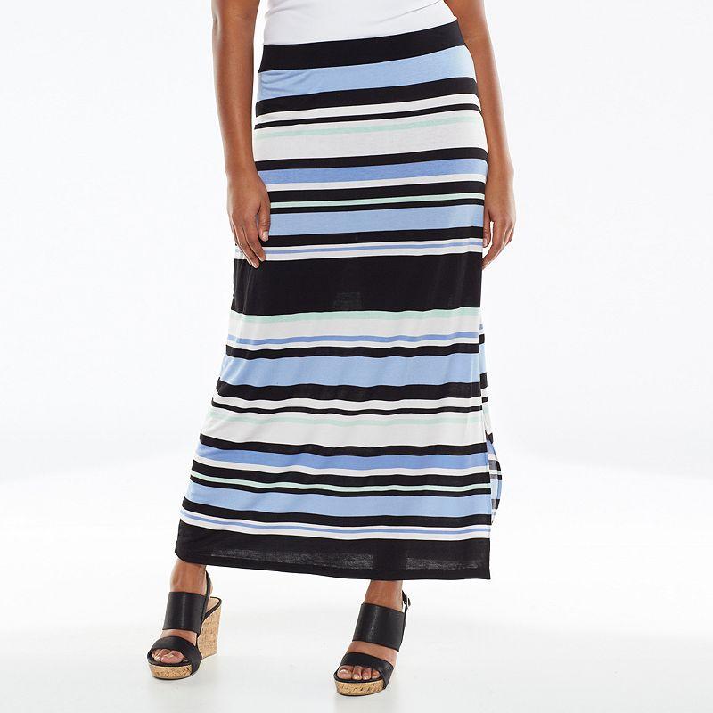 Apt. 9 Maxi Skirt - Women's Plus Size