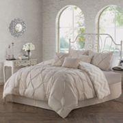 Avondale Manor Ella Pinch Pleat 7 pc Comforter Set