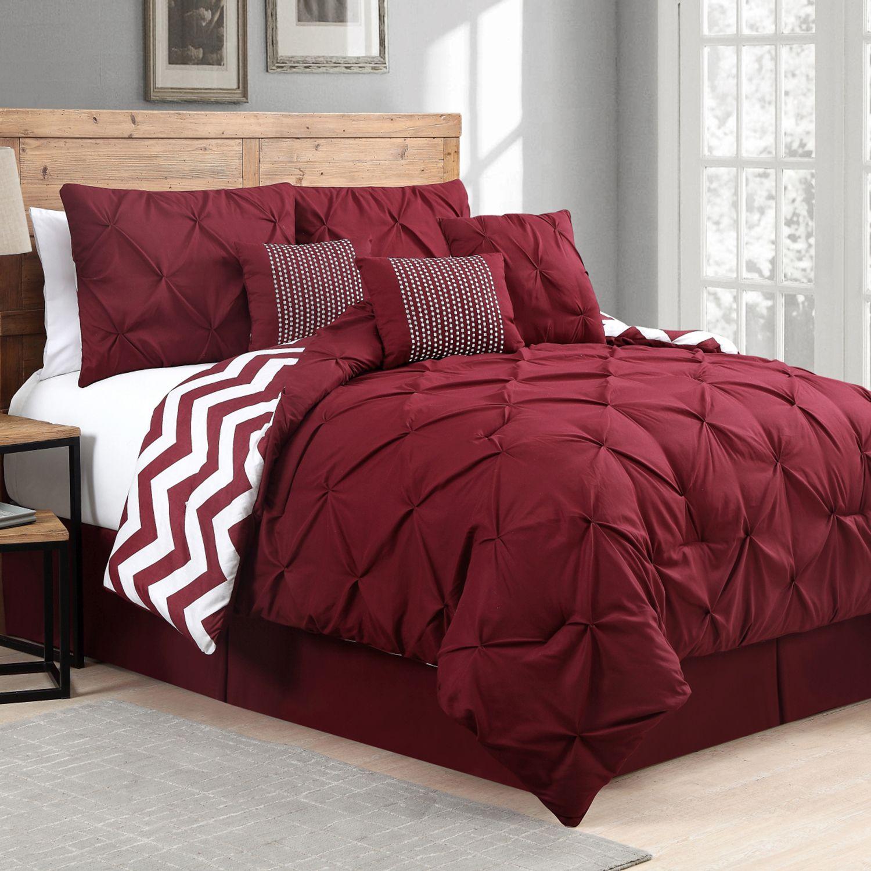 Attrayant Avondale Manor Ella Pinch Pleat Comforter Set