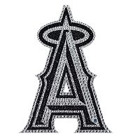 Los Angeles Angels of Anaheim Bling Emblem