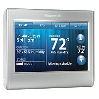 Honeywell WiFi Smart Touchscreen Digital Programmable Thermostat
