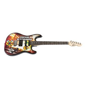 Woodrow Chicago Blackhawks Northender Electric Guitar