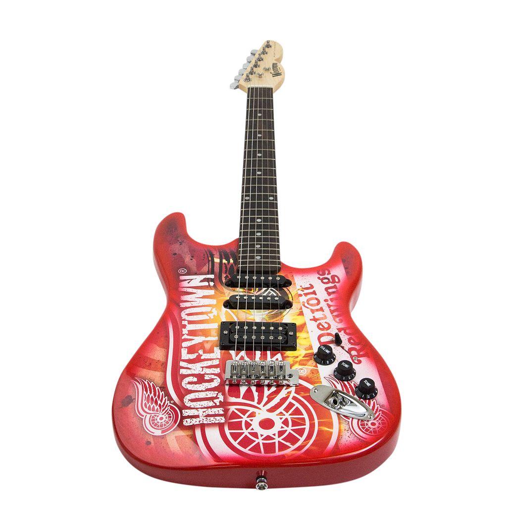 Woodrow Detroit Red Wings Northender Electric Guitar