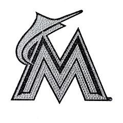 Miami Marlins Bling Emblem