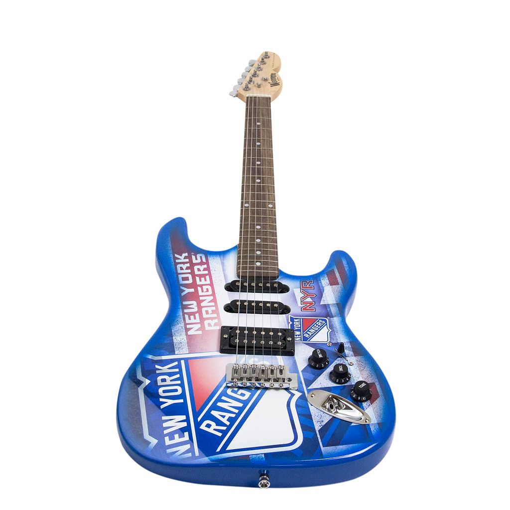 Woodrow New York Rangers Northender Electric Guitar